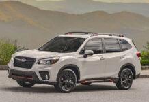 Subaru представила Forester с 1,8-литровым турбомотором