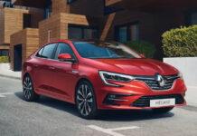 Renault обновила Megane в кузове седан