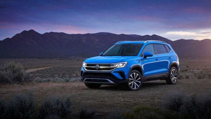 Volkswagen представил компактный кроссовер Taos