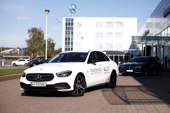 В Украине дебютировал обновленный Mercedes-Benz E-Class