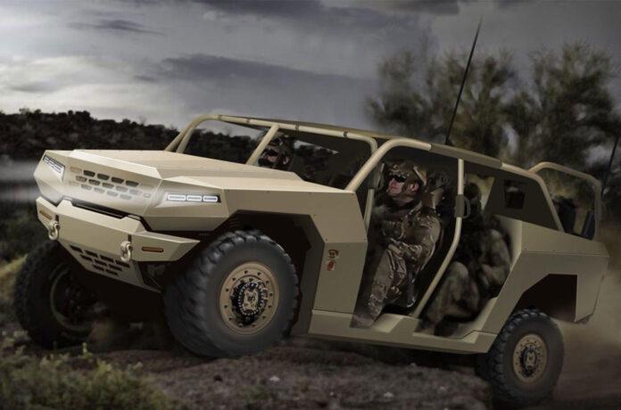 Kia построит военный вездеход и багги