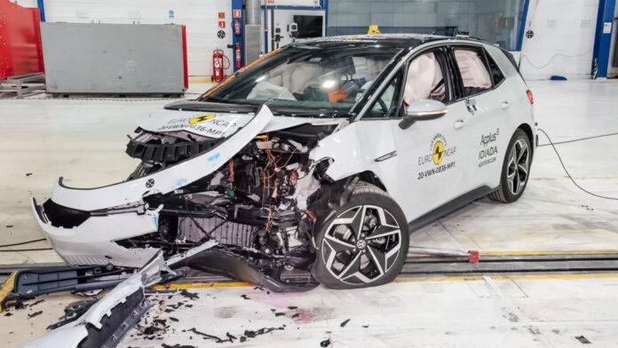 Volkswagen ID.3 разбили по новой методике Euro NCAP