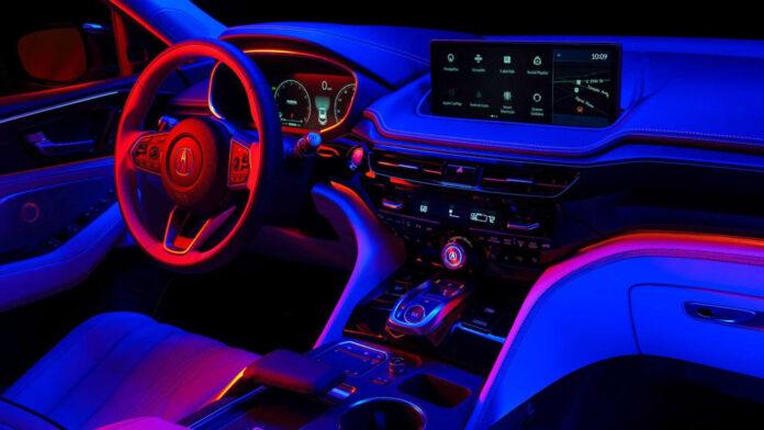 Acura показала интерьер нового MDX