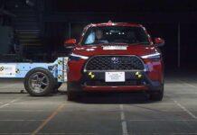 Toyota Corolla Cross прошел своей первый краш-тест