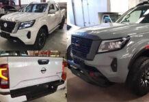 Шпионы показали внешность обновленного пикапа Nissan Navara