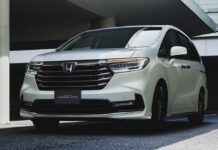 Honda обновила минивэн Odyssey