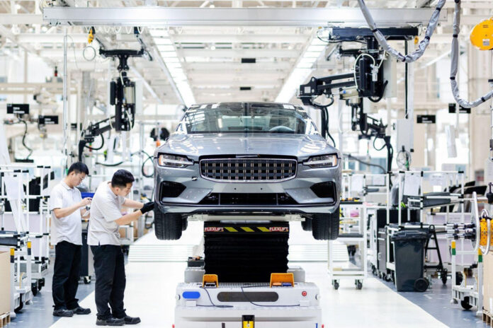 Geely построит завод для производства шведских электромобилей