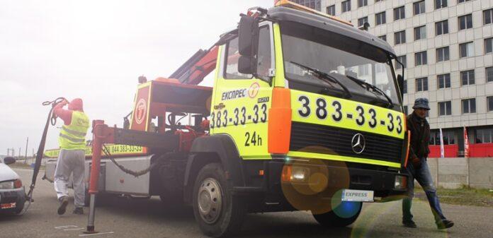 Как вызвать эвакуатор в Киеве