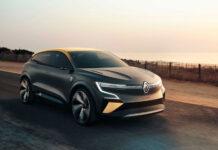 Renault представила концепт электрического Megane