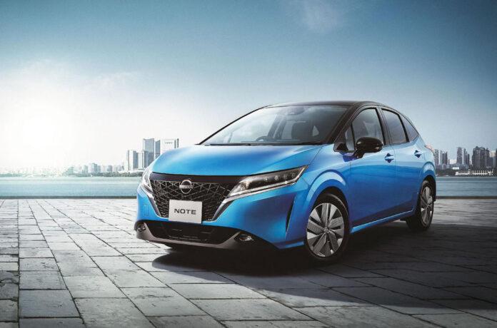 Nissan Note нового поколения представлен официально