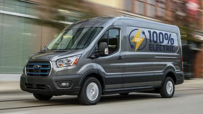 Электрический Ford Transit обеспечит до 350 км запаса хода