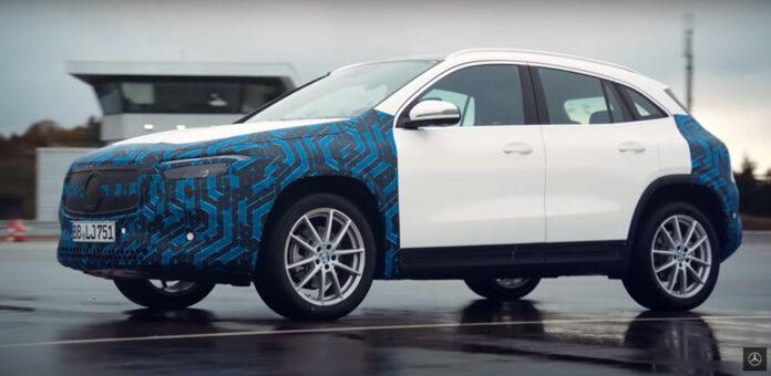 Mercedes-Benz дал посмотреть на испытания электрических EQA и EQS