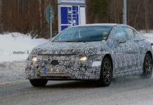 У электрического Mercedes-Benz EQE будет три AMG-версии