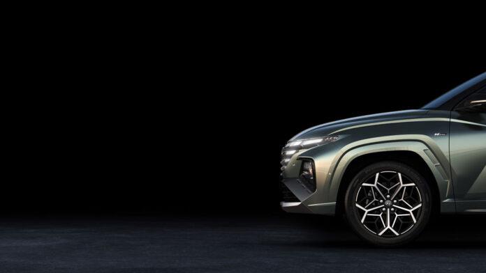 Hyundai показал первые фото Tucson N-Line и