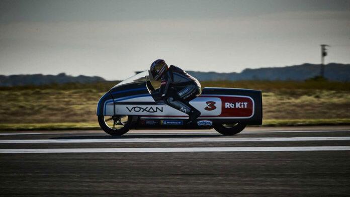 Электрический мотоцикл Voxan Wattman установил 11 мировых рекордов