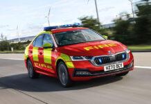 Британские службы экстренной помощи будут использовать гибриды Skoda