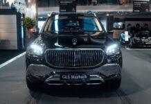 В Украину привезли первый Mercedes-Maybach GLS