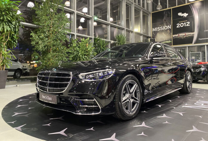 Новый Mercedes-Benz S-Class приехал в Украину