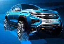 Новый Volkswagen Amarok построят на базе Ford Ranger