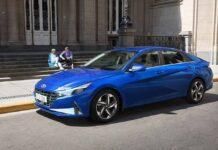 Hyundai начинает продажи новой Elantra в Украине