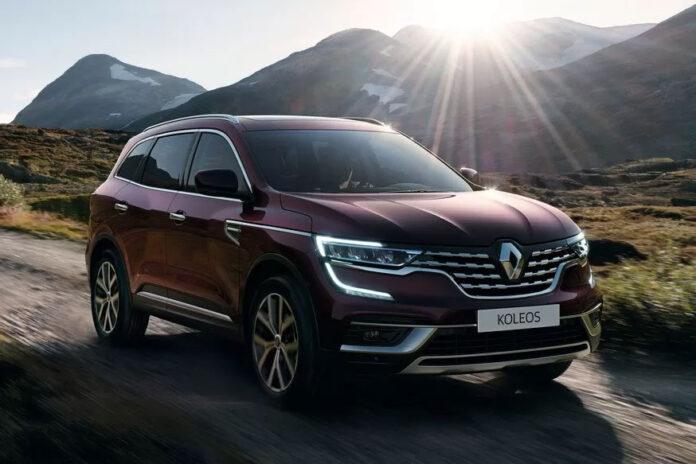 Renault Koleos пережил небольшую модернизацию