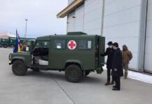 Украинские военные получили семь Land Rover Defender