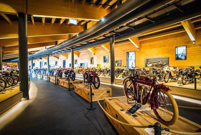В Австрии сгорел музей с большой коллекцией мотоциклов