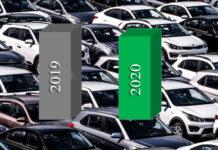 В декабре украинцы купили рекордное количество новых автомобилей