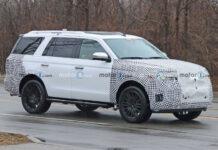 Фотошпионы заметили большой гибридный внедорожник Ford