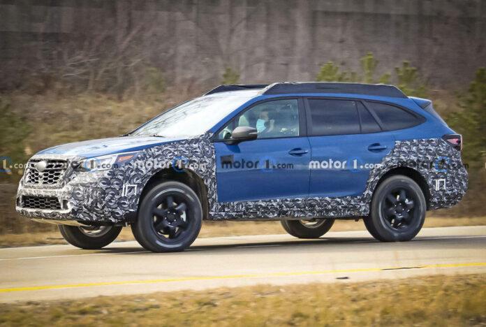 Subaru подготовит Outback для сурового бездорожья