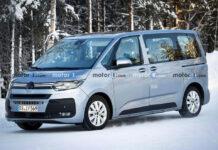 Фотошпионы заметили Volkswagen Multivan T7 во время испытаний