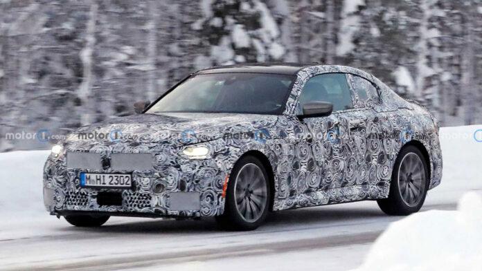 Купе BMW 2-й серии сфотографировали на тестах в Швеции