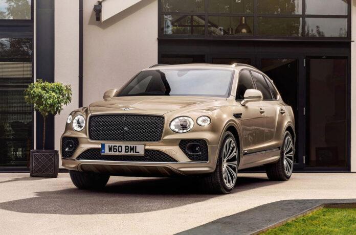 Bentley обновила гибридный Bentayga