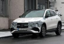 Электрические Mercedes-Benz EQA и EQB сбросили почти весь камуфляж