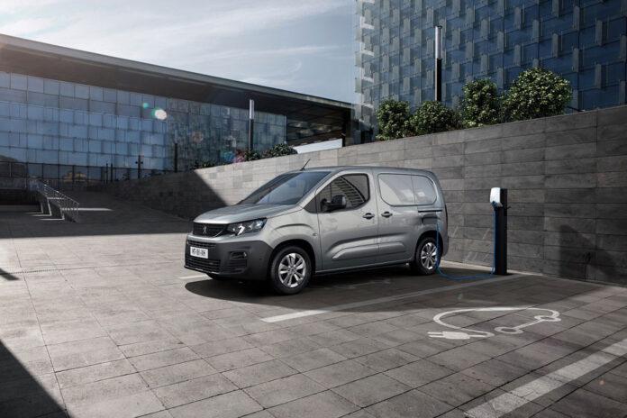 Peugeot Partner стал электромобилем