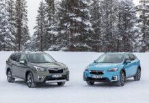 В Украину приехали гибридные Subaru Forester и XV