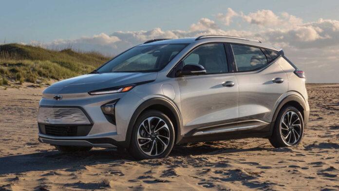 Chevrolet представил электрический псевдокроссовер Bolt EUV