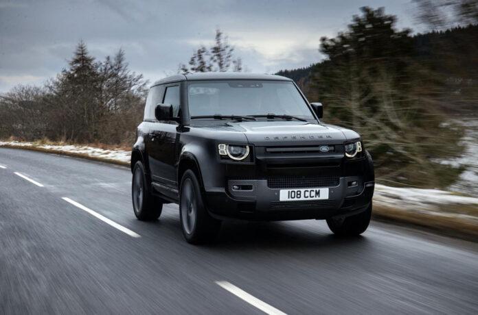 Land Rover Defender получил двигатель V8