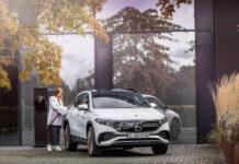 В Украине стартуют продажи электрокроссовера Mercedes-Benz EQA