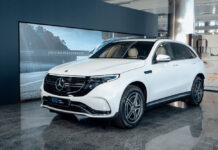 Электрический Mercedes-Benz EQC приехал в Украину