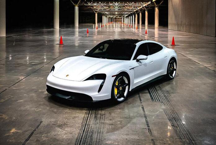 Porsche Taycan установил необычный рекорд скорости