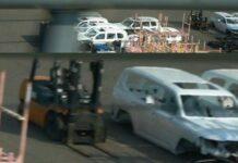 Шпионы сфотографировали кузов и шасси нового Toyota Land Cruiser