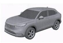 Внешность нового Honda HR-V рассекретили на патентных изображениях