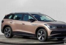 Рассекречена внешность электрического кроссовера Volkswagen ID.6