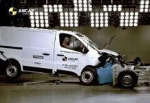 Фургон Mitsubishi Express не заработал ни одной звезды в краш-тесте