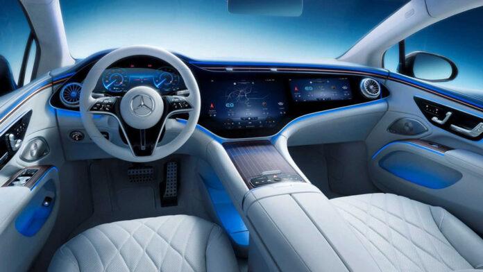 Mercedes-Benz показал интерьер самого роскошного электромобиля