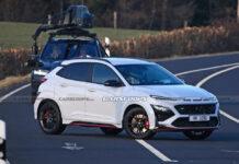 Заряженный Hyundai Kona N рассекретили до премьеры
