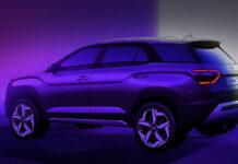 Hyundai показал 7-местный кроссовер Alcazar