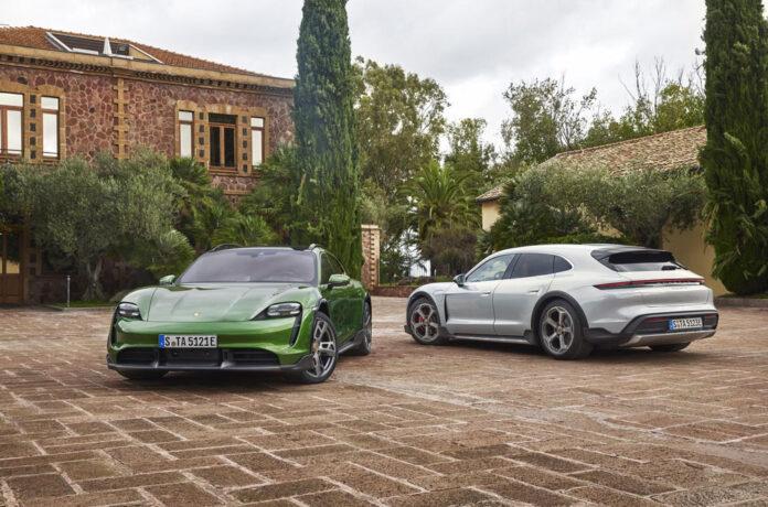 Porsche представила электрический универсал Taycan Cross Turismo
