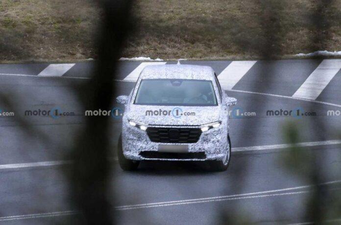 Honda начала испытания нового поколения CR-V